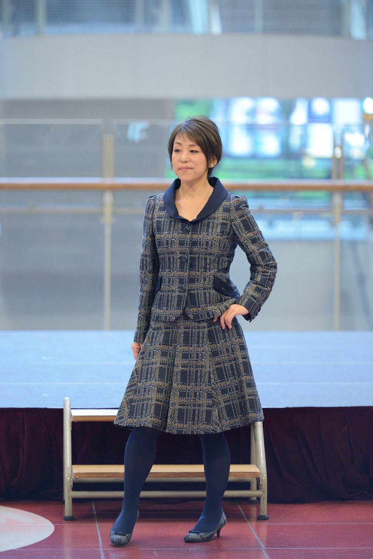 顔タイプフェミニン骨格ストレートさんセットアップコーデ【Kitamura衣装より】