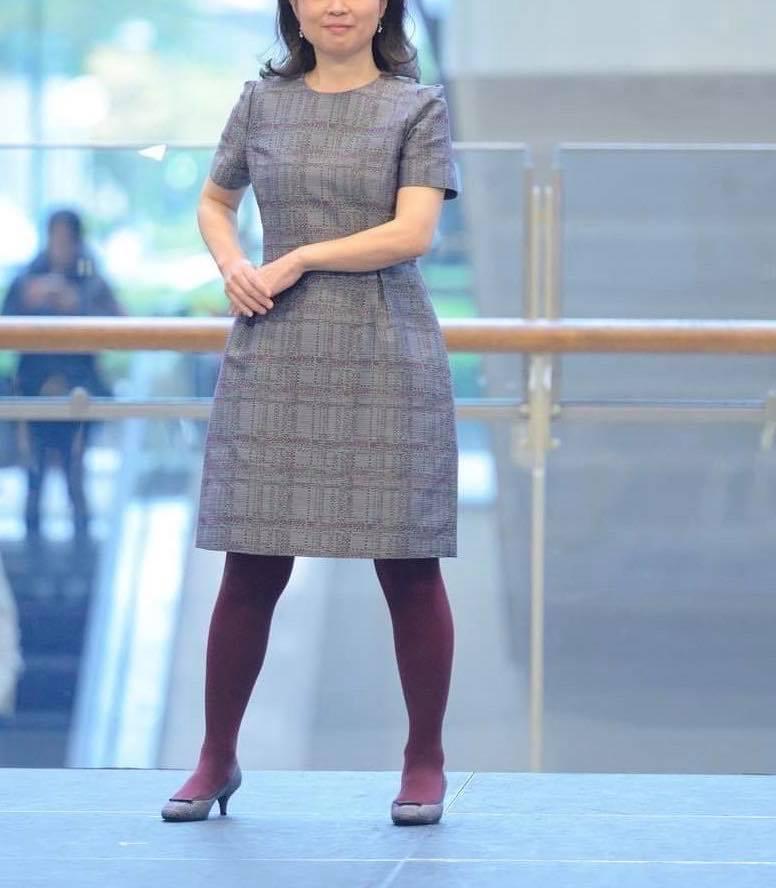 顔タイプキュートさんのワンピースコーデ【Kitamura2019 AW衣装より】