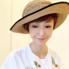 顔タイプエレガント&フェミニンの夏麦わら帽子似合うポイント